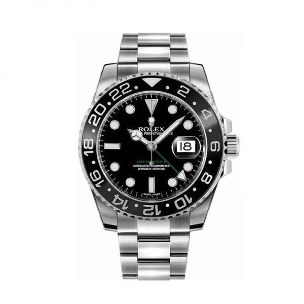 Rolex GMT-Master II 116710LN Schwarze Herren 40mm Stahl Automatikuhr