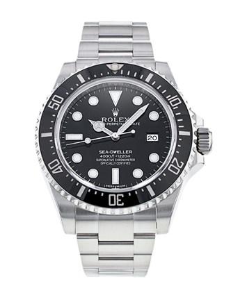 Rolex Sea-Dweller 116600 Herren schwarz Zifferblatt 40mm Automatikuhr