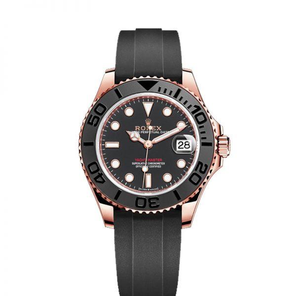 Rolex Yacht-Master 268655 Schwarzes Zifferblatt Unisex 37mm Uhr