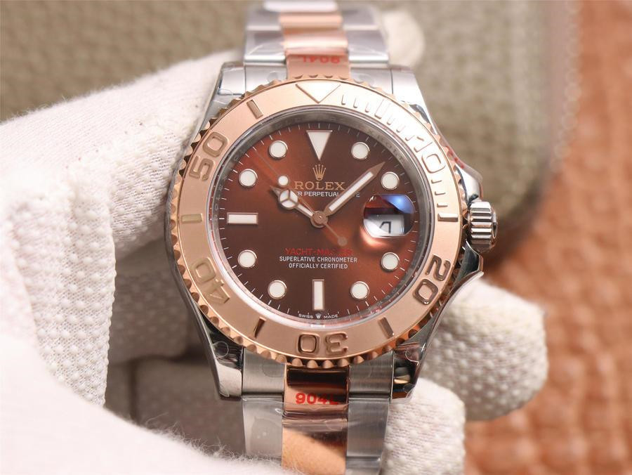 Rolex Yacht-Master M126621 Replica Herren 40mm schokoladenfarbene Uhr